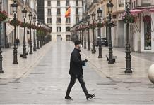 Representational image of lockdown in Spain | Bloomberg