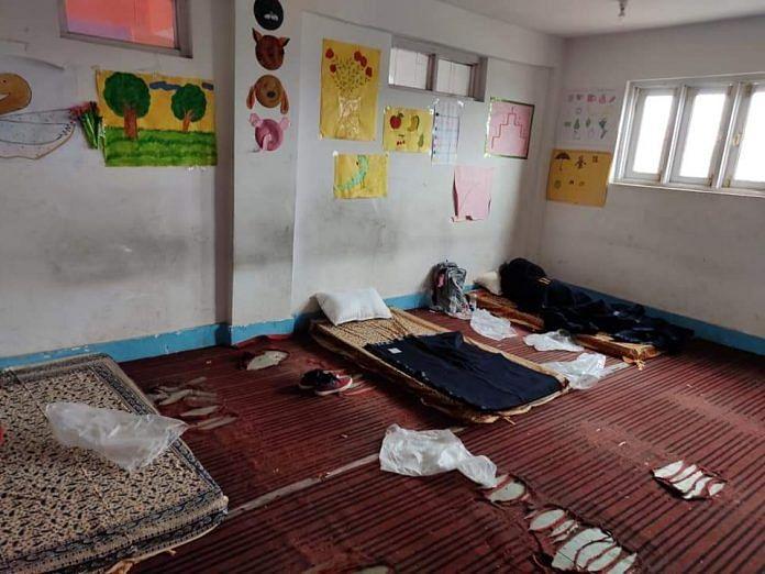 Quarantine centre at Jammu and Kashmir's Pulwama | Photo: Facebook