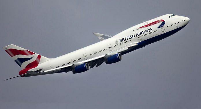 File photo of British Airways aircraft | Pixabay
