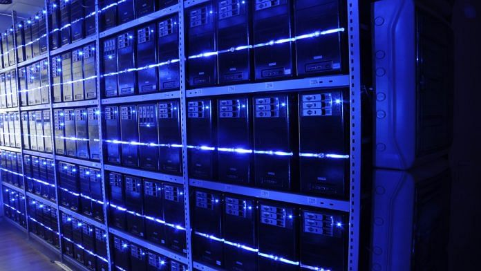 A server room in a data centre | Representational Image | Commons