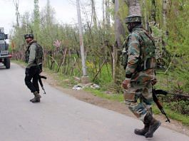 Representational image of an encounter in Jammu and Kashmir | Photo: ANI