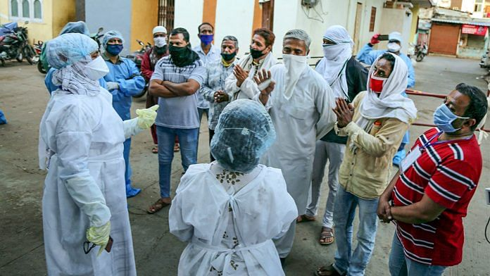 Residents in Indore apologise to doctors a day after attacking them PTI