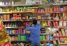 A local grocery story in Bengali Market, Delhi | Photo: Manisha Mondal | ThePrint