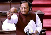 File image of Union HRD Minister Ramesh Pokhriyal | ANI