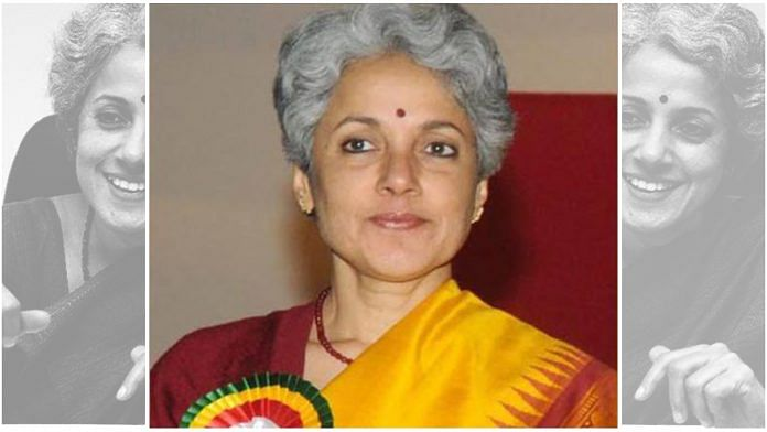 WHO Scientist Soumya Swaminathan    Credit: ThePrint Team