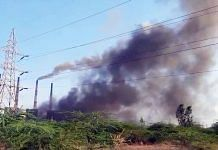 Boiler explosion at NLC thermal power plant in Tamil Nadu. Photo   ANI