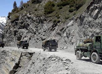 Representational image of the Indian Army in Ladakh | ANI File Photo
