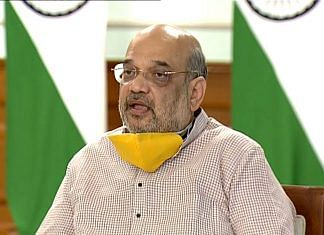 Union Home Minister and former BJP president Amit Shah | Photo: ANI