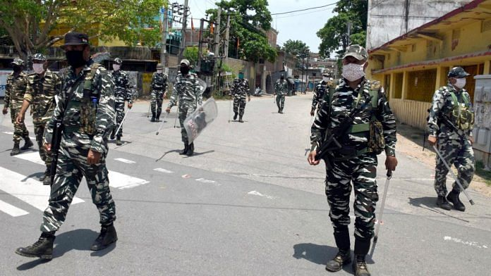 Representational image for the Central Reserve Police Force | Photo: ANI