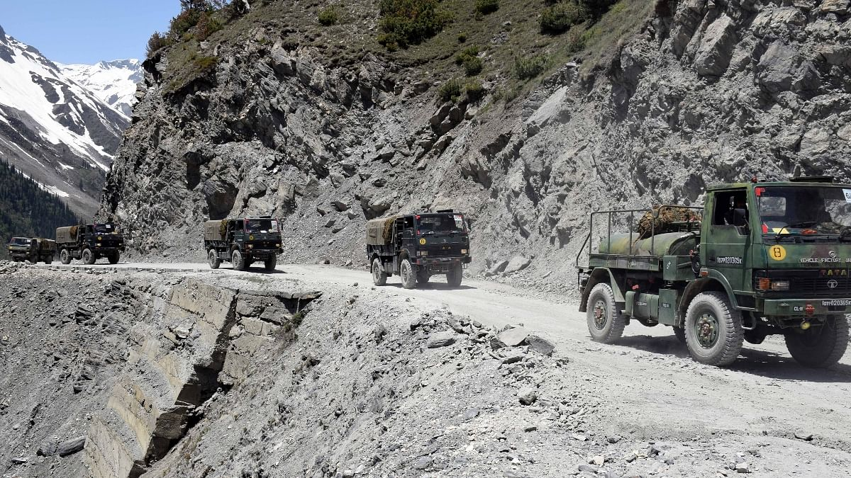 Image result for China retreating from eastern Ladakh border