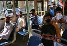 Migrants from Madhya Pradesh were brought to New Delhi railway station via 72 DTC buses