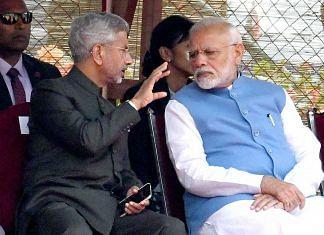 File image of External Affairs Minister S. Jaishankar and Prime Minister Narendra Modi | Photo: ANI