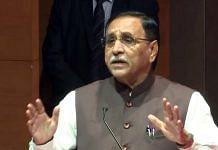 File image of Gujarat Chief Minister Vijay Rupani | Photo: ANI