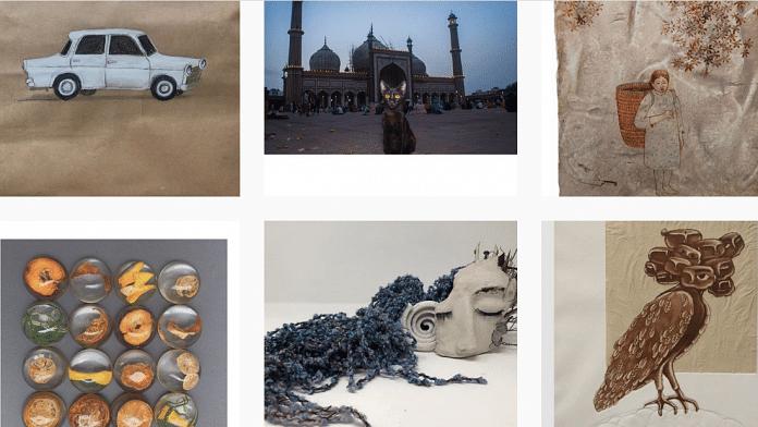 Art Chain India, an initiative of artists Purvai Rai and Ayesha Singh | #ArtChainIndia Instagram