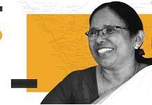 Kerala Health Minister K.K Shailaja | ThePrint