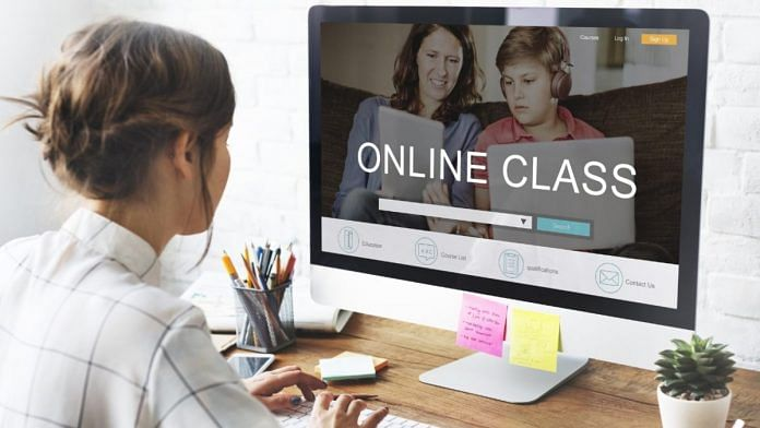 Online class (Representational Image) | Wikipedia