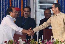 File photo of Maharashtra CM Uddhav Thackeray with his deputy Ajit Pawar | ANI