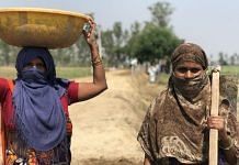 Two women, both named Nanhi Devi, are the bread winners in their families. Nanhi Devi (right) lost her husband and in-laws to TB, while the other woman's husband is too old and rests at home | Jyoti Yadav | ThePrint