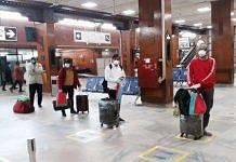 Representational image | Indian nationals at Kathmandu airport | ANI