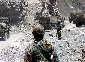 An army convoy moving towards the Zojilla pass in Drass (representational image) | ANI