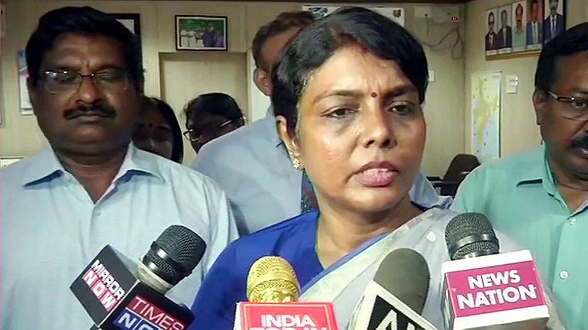 Health Minister S Confidante Congress Leader S Daughter Why Tn Health Secretary Was Shunted