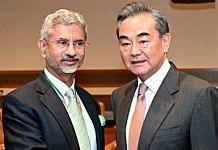 File image of Indian External Affairs Minister S. Jaishankar and his Chinese counterpart Wang Yi | Photo: ANI