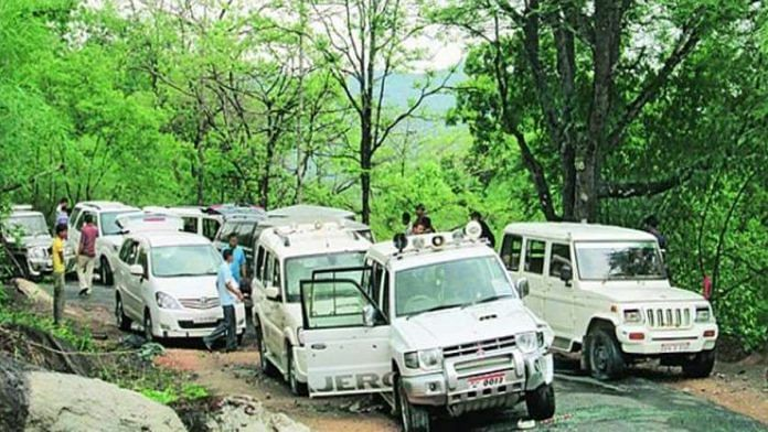 Jheeram Ghati in Bastar, Chhattisgarh, where the 2013 Naxal attack took place | By special arrangement
