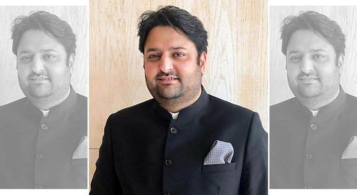Mumbai BJP general secretary Mohit Kamboj | Twitter
