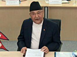File image of Nepal PM K.P. Sharma Oli | Photo: ANI