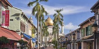 A street stands deserted in the Kampong Glam area during a phased lockdown due to the coronavirus in Singapore, on Tuesday, June 2, 2020. Mostly empty offices, staggered work hours, face shields and contact tracing -- that's what Singapore's cautious return to work will look like under the watchful gaze of the hub's financial regulator. The authority's approach is part of a phased reopening of the city-state, which has been under one of the longest lockdowns in Asia as authorities battled a second wave of coronavirus infections | Bloomberg file photo