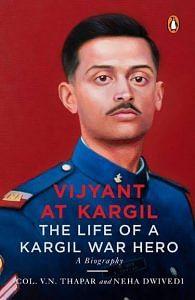 Vijyant at Kargil book cover