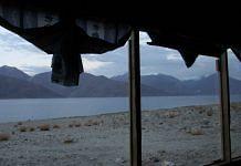 A file photo of Pangong Lake in Ladakh | Visharad Saxena | Special arrangement