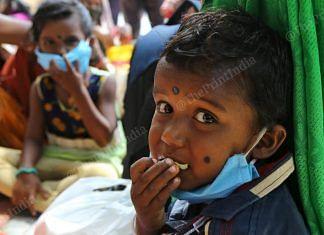 File photo of children at the Secunderabad railway station | Suraj Singh Bisht | ThePrint