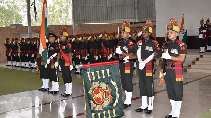 A file photo of Bihar Regiment soldiers.   By special arrangement   ThePrint