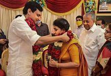 Kerala CM Pinarayi Vijayan's daughter Veena marries DYFI national president PA Mohammed Riyas at a function, in Thiruvananthapuram | PTI