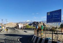 A view of Leh, Ladakh. | Photo: Sajid Ali/ThePrint