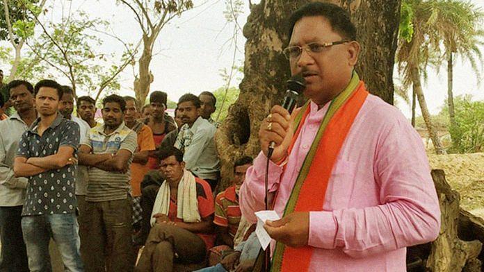 A file photo of former Union minister and new Chhattisgarh BJP chief Vishnu Deo Sai. | Photo: Facebook/Vishnu Deo Sai