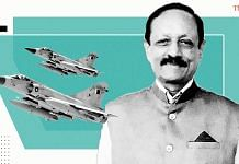 Air Marshal Anil Chopra (Retd) was among the IAF fighter pilots who flew the first seven Mirage 2000 jets to India | ThePrint Team