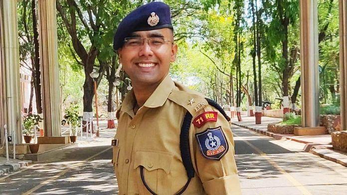 Punjab cadre IPS officer Aditya | By special arrangement