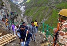 File photo of devotees on the Amarnath Yatra | PTI