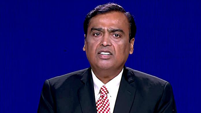 File photo of Mukesh Ambani