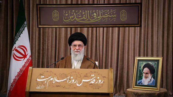 Representational image of Iran's supreme leader Ayatollah Ali Khamenei   Photo: ANI via Reuters