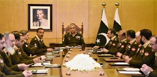 File image of the Pakistani military establishment, headed by Gen. Qamar Javed Bajwa | @OfficialDGISPR | Twitter