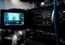 Representational image of a recording camera at a studio | wallpaperflare.com