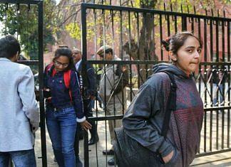 Representational image of college students | Manisha Mondal | ThePrint