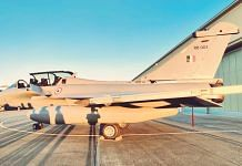 One of the Rafale jets that is on its way to India | Twitter: India in France @Indian_Embassy