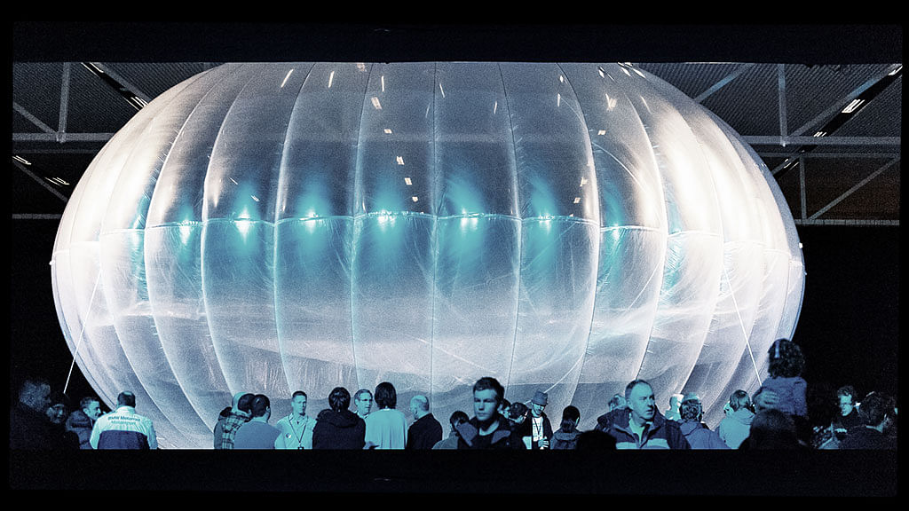 Kenya and Google join hands to make 'internet balloons' — 1,000 users can login from each
