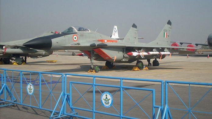 Representational image of an IAF MiG-29 | Photo: Wikipedia