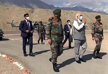 The armed forces veterans' statement has been sent to Prime Minister Narendra Modi (centre), CDS Gen. Bipin Rawat (left) and Army chief Gen. M.M. Naravane (right), among others (representational image)   Photo: ANI