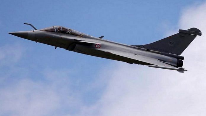 IAF's Rafale fighter jet enters Indian airspace for the first time | Photo: ANI